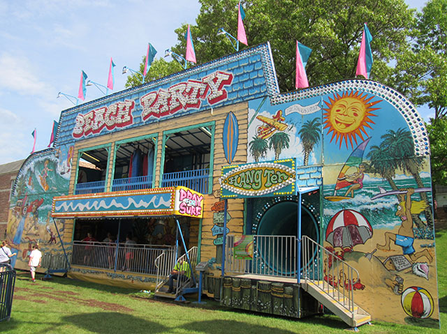 Beach Party Fun House